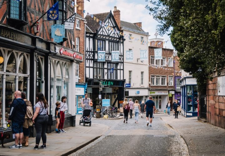Shrewsbury High Street